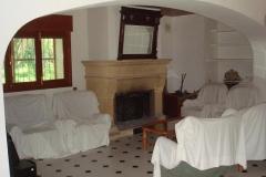 6 Salón chimenea